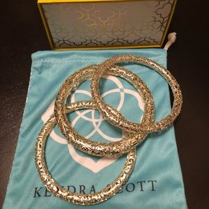 Brand New Kendra Scott Lucca Bangle bracelets. 💕